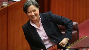 Senate Opposition Leader Penny Wong is what we should seek in a leader.