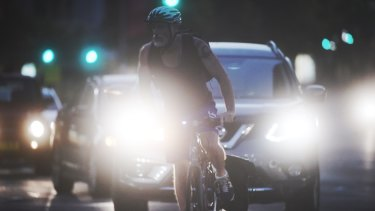 Figures show a 56 per cent increased in cyclists fined in the two months after stiffer penalties were introduced in NSW.