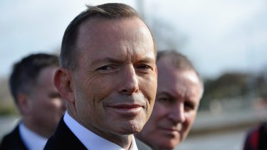 Tony Abbott has not announced when he will move into The Lodge.