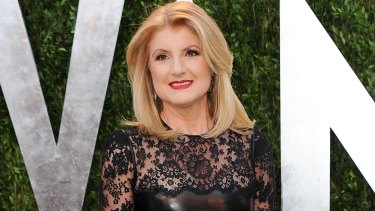Arianna Huffington, pictured at the 2013 Vanity Fair Oscar party, is stepping down as editor-in-chief.