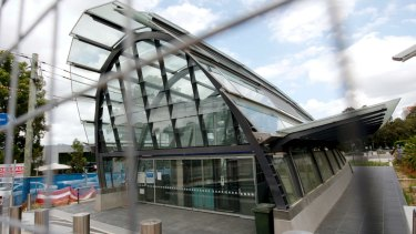 Boom time: Macquarie Park station brought growth to the area.