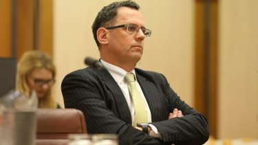 The High Court case appears to be the pivotal moment in the breakdown of his relationship with Senator Brandis.