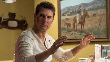 Cruise remains a good enough actor to convey Reacher's unspoken pain and confusion