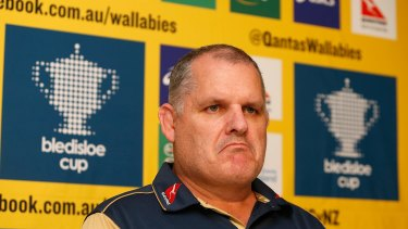 Pressure is mounting on Wallabies coach Ewen McKenzie.