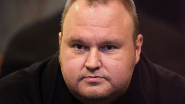 Kim Dotcom, founder of the Internet Party and Megaupload.