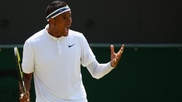 Needs to find a balance: Nick Kyrgios.