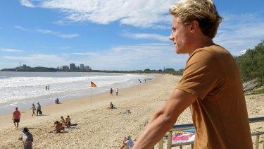 Sunshine Coast ironman athlete and DEBRA Ambassador Matt Bevilacqua.