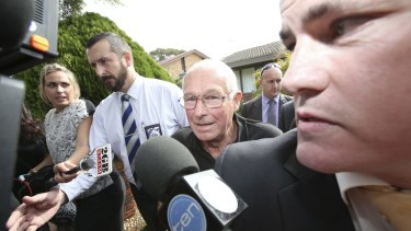 Roger Rogerson at the time of his arrest in May 2014.