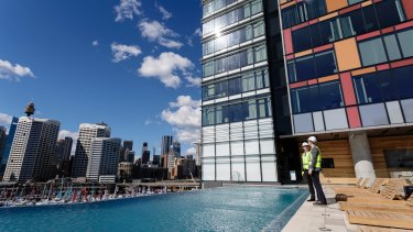 Guests will be able to use a rooftop club lounge, meeting rooms, ballroom and outdoor infinity pool deck.