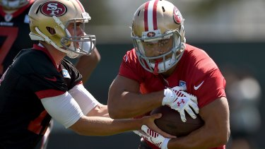 """He put some good stuff on tape and we thought he had skills enough to be a punt returner"": Thomas McGaughey on Jarryd Hayne."