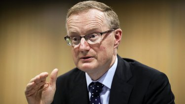 Reserve Bank governer Philip Lowe.