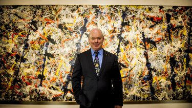 Director of the National Gallery of Australia, Dr Gerard Vaughan AM.