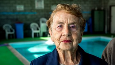 Long-time member Norma Grant, 88, wants the centre left open.