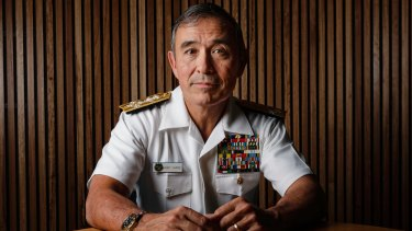 Admiral Harry Harris commands a huge portion of the Pacific.