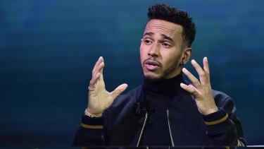 Four-time F1 world champion Lewis Hamilton has come under fire.