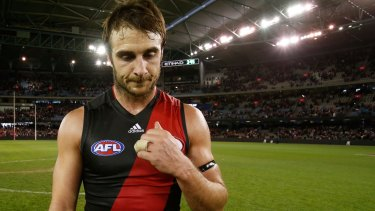 """Essendon is in """"constant dialogue"""" with Jobe Watson."""