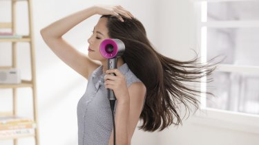 Like those air-multiplying fans from Dyson, the Supersonic hair dryer is hollow.