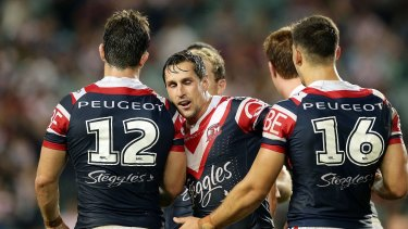 Slow start: With Mitchell Pearce and others returning, the Roosters could shoot up the ladder.