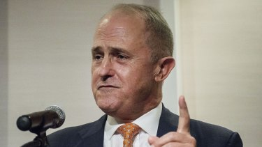 Communications Minister Malcolm Turnbull