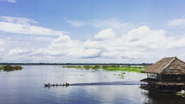 The Peruvian Amazon is a destination for thousands of travelers, many of them Australians.