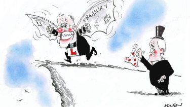 Illustration: Alan Moir.