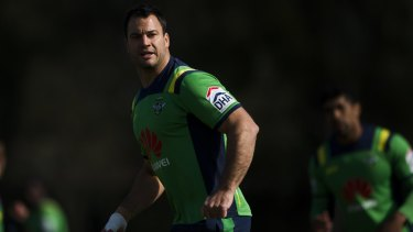 Last game: David Shillington wants to leave the Raiders with a home win.