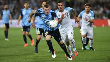 Sydney FC player Sebastian Ryall has left the club.