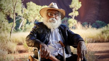 Traditional Owner of Uluru-Kata Tjuta National Park, Reggie Uluru.