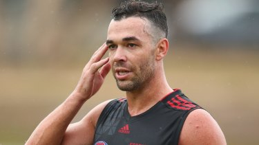 Ryan Crowley may not play round one.