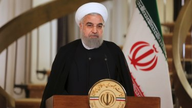 Iranian President Hassan Rouhani has repeatedly insisted that Iran does not seek nuclear arms, but will not give up the ability to enrich uranium for energy and research reactors.
