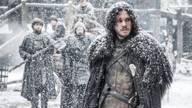 Let it snow ... <i>Game of Thrones</i> producers are waiting for winter to come to start filming season seven.