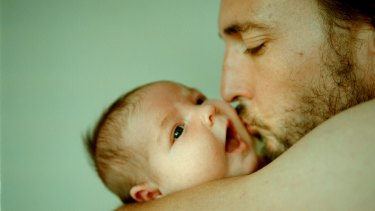 New fathers often have to balance being the primary source of family income with spending time with their new baby and supporting their partner.