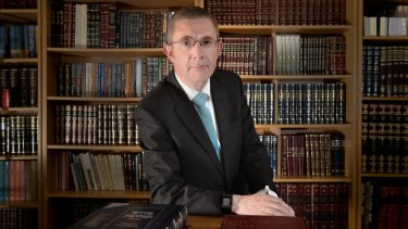Rabbi James Kennard wants reform.