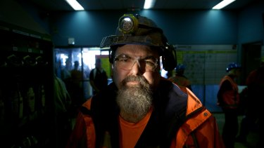 Springvale mine worker John Tilley - uncertainty returns to future of coal mine.
