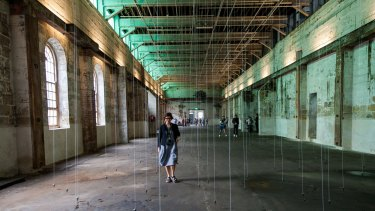 William Forsythe's Nowhere and Everywhere at the Same Time as part of the 20th Biennale of Sydney.