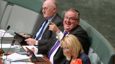 Ewen Jones is usually one of Parliament's happiest personalities.