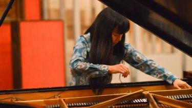 Inventive: Pianist Satoko Fujii.