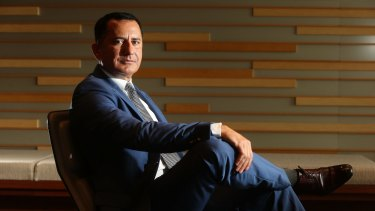 Westpac's George Frazis is eyeing a bigger slice of the mortgage market.