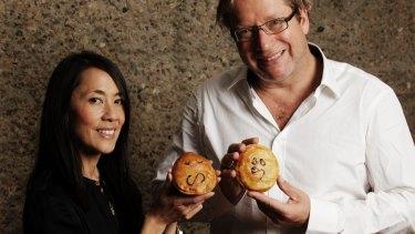 Still on board: Betty Fong and Wayne Homschek.