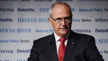 No more donations: NAB chairman Ken Henry.