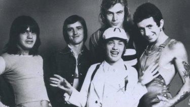 AC/DC in their heyday.
