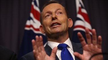 "Prime Minister Tony Abbott: ""What happens if they get off? That's the problem."""