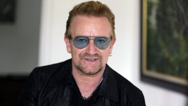 A high school magazine which featured Bono from U2's first ever interview has fetched $3000 on eBay.