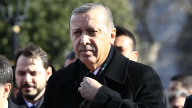 Turkish President Recep Tayyip Erdogan is blaming  supporters of exiled cleric Fethullah Gulen for the coup attempt.
