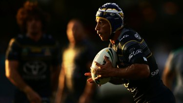 Cowboys co-captain Johnathan Thurston is one of the greatest of all time, says Raiders halfback Aidan Sezer.