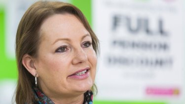 Sussan Ley's trip to the Gold Coast was ''in accordance with the rules'', says her office.