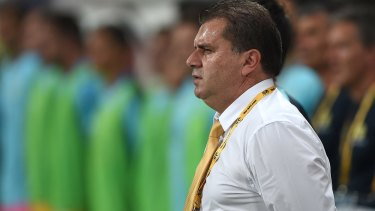 Plugging the drain: Postecoglou determined to prevent Australia's best talent from slipping through the cracks.