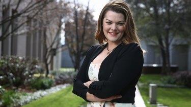 Greens education spokeswoman Sarah Hanson-Young.
