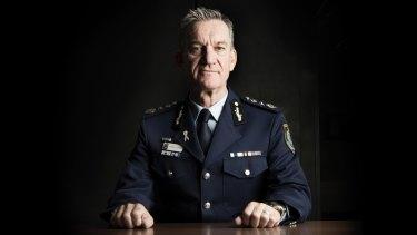 NSW Police Commissioner Andrew Scipione.