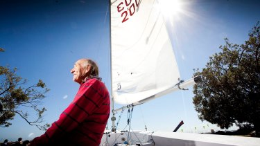Harold Medd is the oldest competer in the Sailing World Cup.